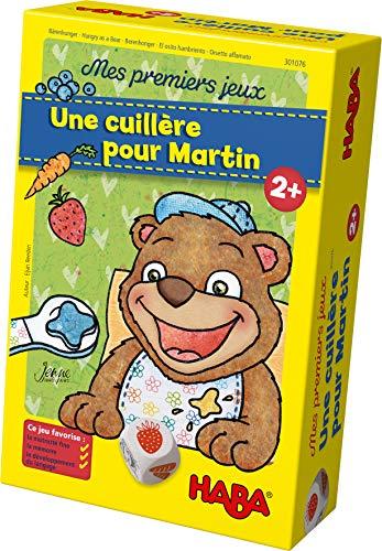 HABA-Mes Premiers cuillère pour Martin-Jeu de mémoire et d'adresse-2 Ans et Plus, 301076
