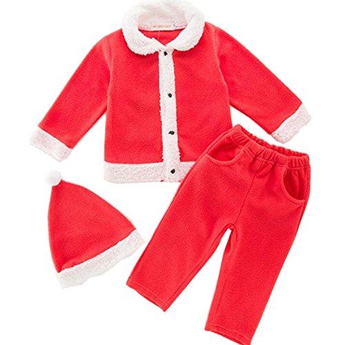 Chickwin Baby Lange Mouw Kleding Sets, Kerstmis Baby Katoen Stuk Kleding Sets Baby Lange Mouw Babys Kerst Bodysuit Romper