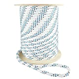 Premium Polyester Double Braid Cable Pulling Rope | Made in USA | Highest Strength | 3/8 inch x 300 feet