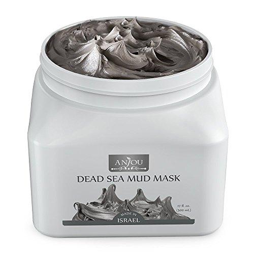 Anjou Dead Sea Mud Mask, Made in Israel, Deep Pore Cleansing...