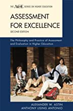 Assessment for Excellence: The Philosophy and Practice of Assessment and Evaluation in Higher Education (The ACE Series on Higher Education)