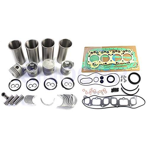 C221 Kit de reconstrucción de motor diesel - SINOCMP Piezas de excavadora para motor Isuzu de máquina de carretilla elevadora Komatsu, 3 meses de garantía