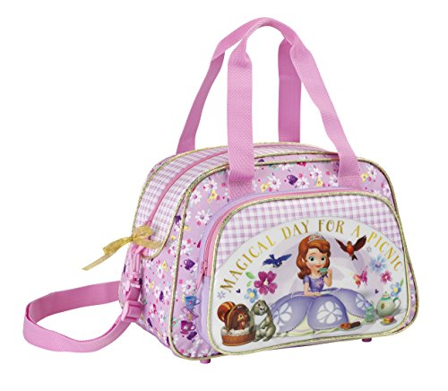 Princesa Sofia 711444406 Bolsa de Deporte Infantil, 48 cm, C