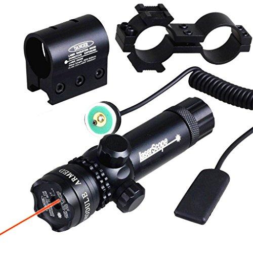 IRON JIA'S imperméable à l'eau d'ajustement Extérieur Rouge visée Laser Fusil Laser portée avec gratuits Dovetail Montage 8 Chiffre Monte …