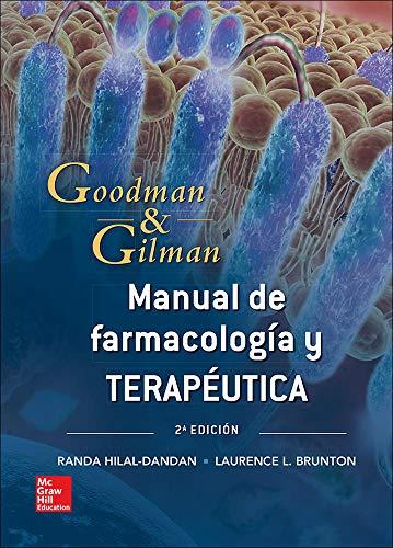 G&G. MANUAL DE FARMACOLOGICA Y TERAPEUTICA