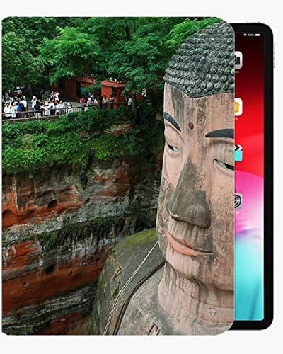 para la Cubierta de la Caja de 9.7 Pulgadas de iPad Air1, Cotizaciones Inspiradoras de Buda-Caja Delgada Cubierta Delgada para iPad iPad Air1