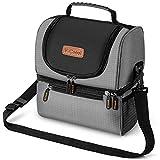 Newdora 12L Kühltasche Picknicktasche Lunchtasche Mittagessen Tasche Thermotasche Kühltasche Isoliertasche