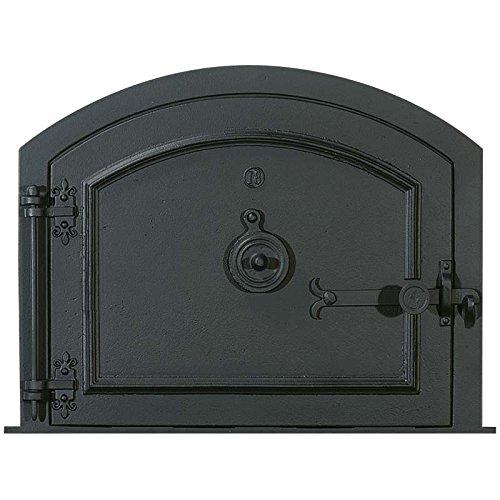 Fonderie Lacoste 0358 Porte de Four, Noir, 59 x 9 x 47 cm