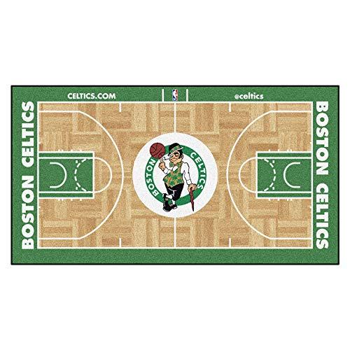 FANMATS 9480 NBA Boston Celtics Nylon Face NBA Court Runner-Small,Team Color,24x44