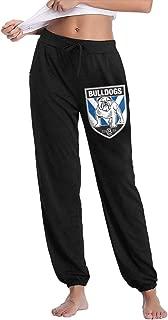 Canterbury Bankstown Bulldogs Girl's Long Pants Joggers Sweatpants Autumn Winter Trousers
