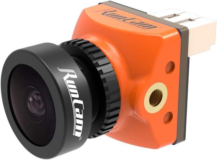 RunCam Racer Nano 2 Waterproof FPV Camera CMOS OSD 1000TVL Super WDR 6ms Low Latency Gesture Control for FPV Racing Drone(1.8mm FOV 160°)