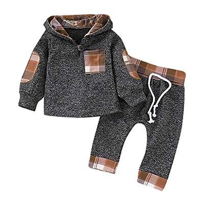 HWTOP Kinderkleidung Baby Trainingsanzüge