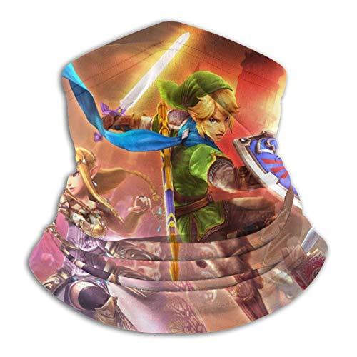TUCBOA Magic Headband,The Legend of Zelda Seamless Warmer Bandanas Máscaras Faciales para Escalada En Gimnasio,26x30cm
