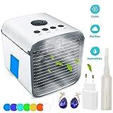 Air Cooler Leakproof aire acondicionado portátil Hler aire acondicionado de aire acondicionado Ventilador Cool Air Ventilator, humidificador y purificador de aire fï R , hotel, Kî Che
