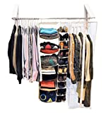 QuikCLOSET The Original Wardrobe Organizer, Collapsible Drying Rack,...