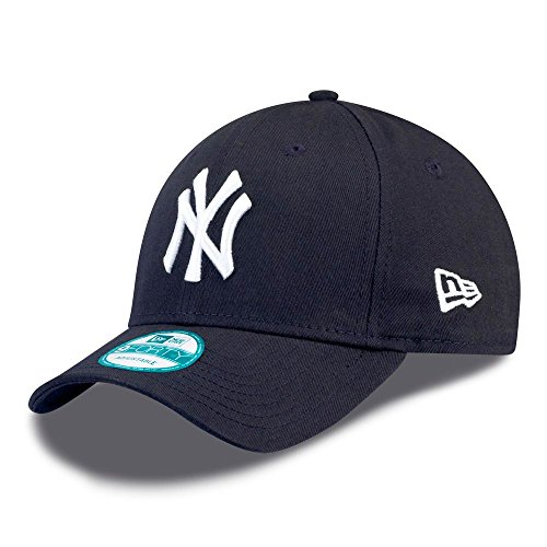 New Era 9forty Strapback Cap MLB New York Yankees #2505, One-size-fitts-all, Blue/White