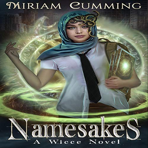 Namesakes     A Wicce Novel, Book 1              By:                                                                                                                                 Miriam Cumming                               Narrated by:                                                                                                                                 Katherine Littrell                      Length: 8 hrs and 45 mins     1 rating     Overall 5.0