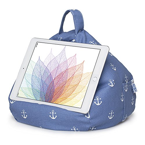 iBeani iPad & Tablet Stand/Bean Bag Cushion Holder (Anchor)