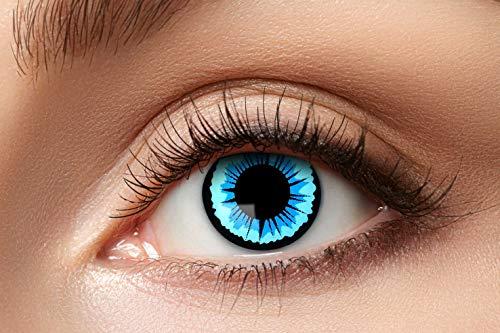 Zoelibat 10130487 Kontaktlinsen, blau