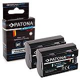 PATONA 2X Platinum Bateria NP-W235 2250mAh Compatible con Fuji Fujifilm X-T4, de Calidad Probada y fiable