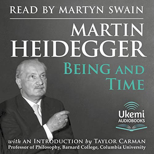 Being and Time audiobook cover art