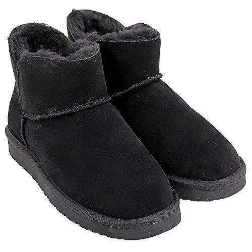 [ベアパウ] ムートンブーツ Sabrina ブラック US7 (24.0cm)
