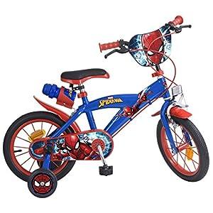 Zerimar Bicicletas Infantiles para niños y niñas | Bici con ruedines y Cesta | Bici niño | Bicicleta niños 14,16,18 Pulgadas | Bicicletas niños 3-8 años: Amazon.es: Deportes y aire libre