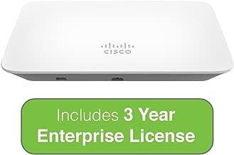 Cisco Meraki MR20 Dual-Band, 802.11ac Wave 2 Access Point with 3 Year Enterprise License