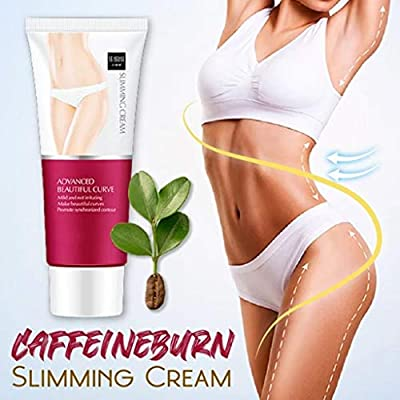 Body Firmers Hot Caffeine Burn Cream, Hot Cream, Slim Cream, Cellulite Removal Firming Cream for Belly, Fat Burner, Break Down Fat, Perfectly Shape Thighs, Legs, Abdomen, Arms and Buttocks (A) from Smony
