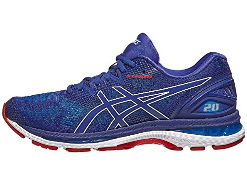 ASICS Gel-Nimbus 20 Men's Running Shoe, Blue Print/Race Blue, 7 D(M) US
