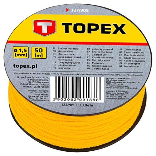 Topex 13A905 - Cuerda de albañil 50 m Topex