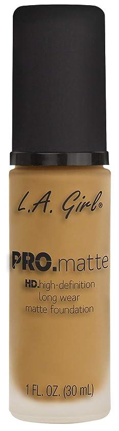 機械的に実験室ハイキングL.A. GIRL Pro Matte Foundation - Soft Beige (並行輸入品)