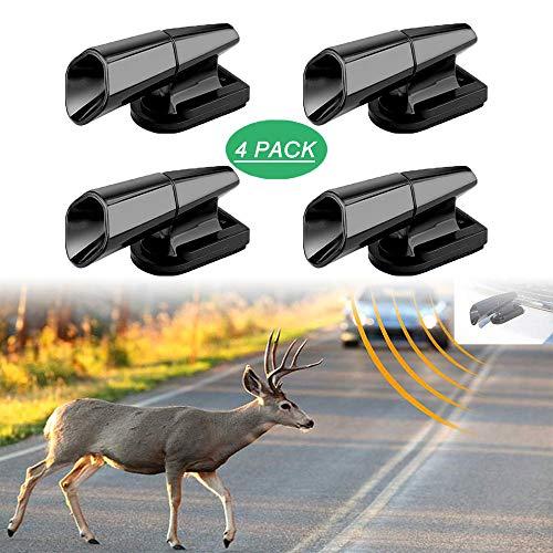 Rehpfeifen für Auto, 4 Stück Warngeräte für Fahrzeuge, Motorräder, Ultraschall & Windpfeife, Auto-Sicherheitszubehör