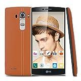 LG G4H818p Smartphone Android 5.1Hexa-Core 1.8Quad + 1.4dual-3go RAM + 32go ROM 5.5Pulgadas Quad HD 2560* 1440pixels-16m cámara arrière-Brun