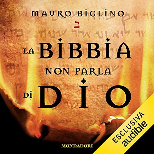 La Bibbia non parla di Dio copertina