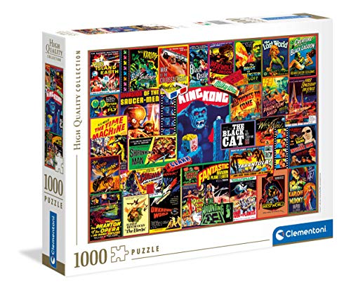 Clementoni Collection – Thriller Classics – Puzzle para Adultos de 1000 Piezas, Fabricado en Italia, Multicolor (39602)