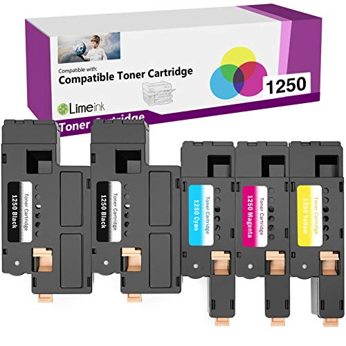 CNY Toner 5 Packs Compatible Dell 5130cdn High Yield Cyan Toner