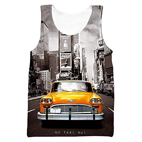 Mikelabo Camiseta de compresión para hombre, de algodón, para baloncesto 8 XL