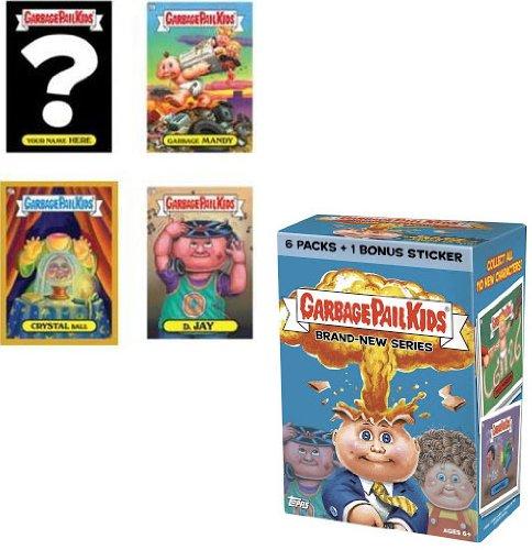 2012 Topps GPK Garbage Pail Kids Card Stickers BRAND NEW 2012 Series 1 Value Blaster Box - 6 packs