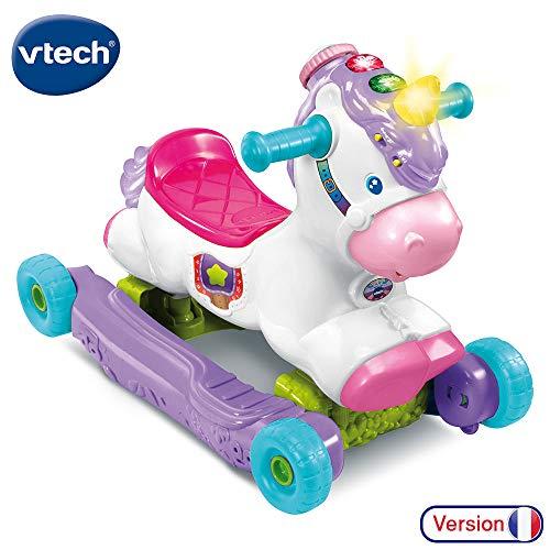 VTech Baby- Clao, Ma, Unicornio basculoso portabebés y