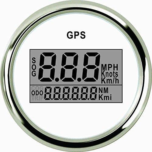 ELING Universal Digital GPS Speedometer Speedo Gauge for Car Motorcycle Truck Yacht Vessel 2' 9-32V
