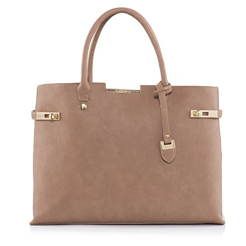 LaBante London Marrón bolsa de hombro 'Windsor'