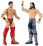 WWE Seth Rollins vs The Miz, Playset 2 Personaggi, 15 cm, GDC05...