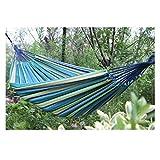 Simple Camping hamac Famille hamac, Hamacs avec balançoire Lit Jardin Camping 9.7 (Couleur: F, Taille: 280x150cm) ANGANG (Color : B, Size : 280x150cm)