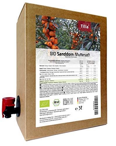 BIO Sanddorn Muttersaft - 100% Direktsaft 3 Liter
