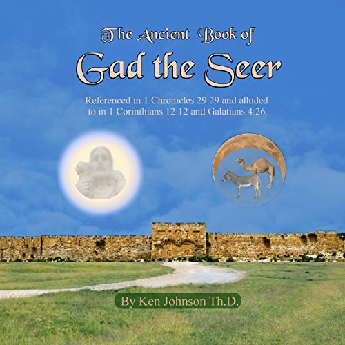 Ancient Book of Gad the Seer audiobook cover art