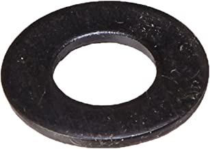 Steel Flat Washer, Black Oxide Finish, ASME B18.22.1, 3/8