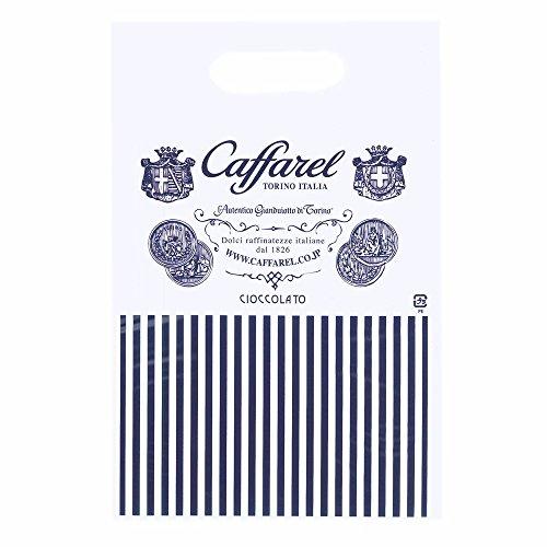 カファレルCaffarelレガロ・ブルーチョコレートアソート6粒ブランド袋付き