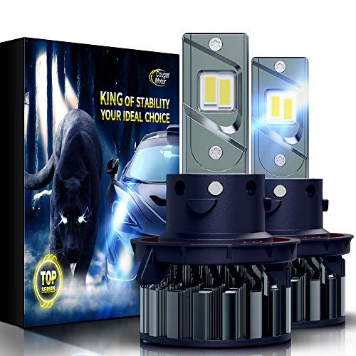 Cougar Motor Flagship H13 - Bombillas LED superbrillantes 9008 6500 K todo en uno – Luz antiniebla de repuesto
