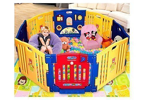 Parque infantil para exteriores Star Ibaby Play Twin